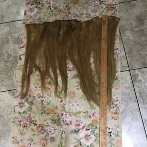 Accessories - Hair extensions dirty blonde real human hair clips